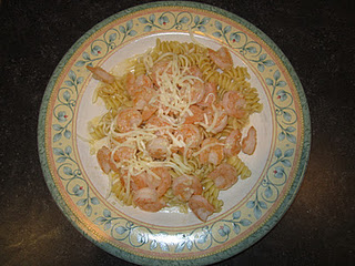 Quick and Easy Dinner: Shrimp Pasta with Lemon Butter Sauce!