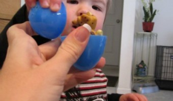 Tips for Toddlers: Plastic Easter Eggs Provide Hours of Fun!
