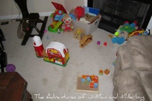 How to Keep Your Toddler's Toys from Turning Your Home into Chaos!