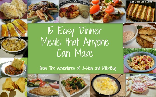 15 easy dinner meals than anyone can make the for What can i make for dinner with chicken