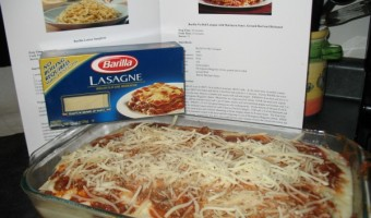 Celebrating World Pasta Day the Easy Way with a Little Help from Barilla and a Great Way to Help Feed America!