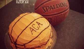 How to Make an Easy Basketball Cake that Will be the Star of Your Next Event!