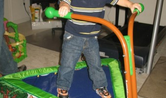 Perfect Gifts for Kids: iBounce Trampoline Review and Giveaway!