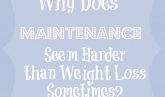 Nutrisystem Maintenance Week 8: Why Is Maintaining Your Weight So Hard? #NSNation
