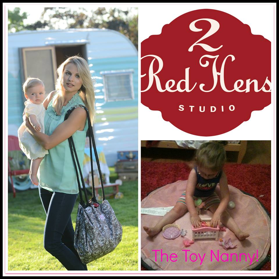 Take Playtime on the Go with a 2 Red Hens Toy Nanny Giveaway! Ends ...