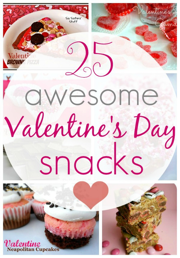 25 Awesome Vlanetine's Day Snacks