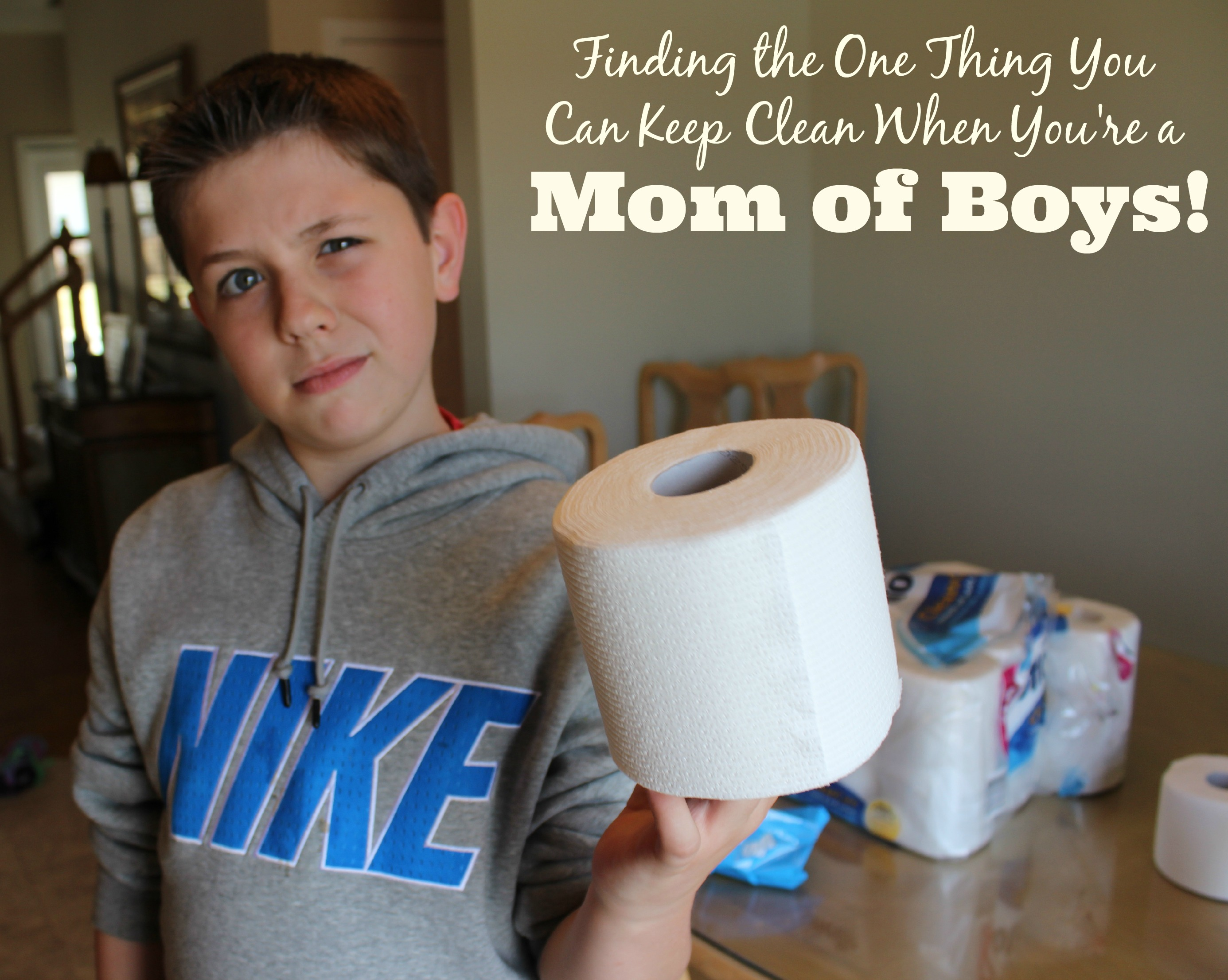 finding the one thing you can keep clean when you re a mom