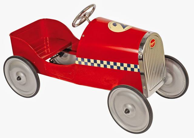 Race Away Spring Days with a Pedal Car from The Bean Patch ...