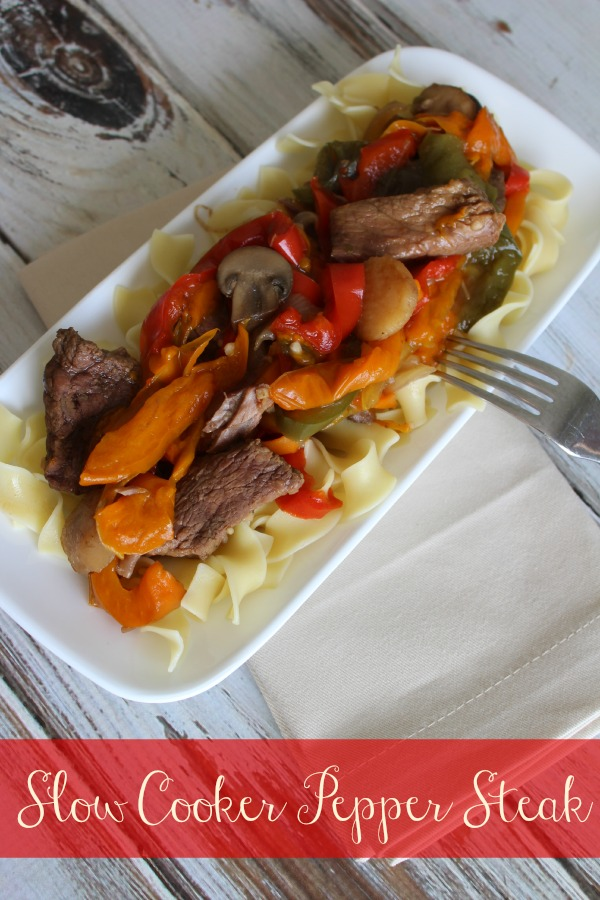 Make Dinner Easy with a Slow Cooker Pepper Steak Recipe - The ...