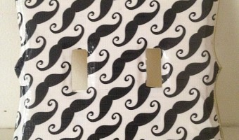 Dress Up Your Room with a Washi Tape Light Switch Cover Craft!