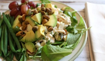 Easy Lunch: Pistachio and Dill Chicken Salad