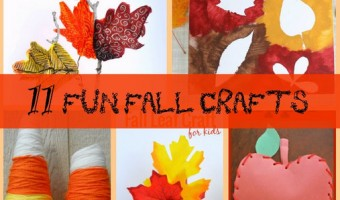 11 Fun Fall Crafts for Kids