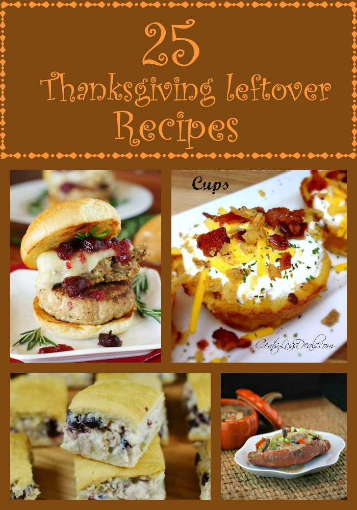 25 Thanksgiving Leftover Recipes