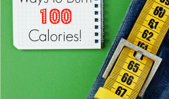 72 Creative Ways to Burn 100 Calories