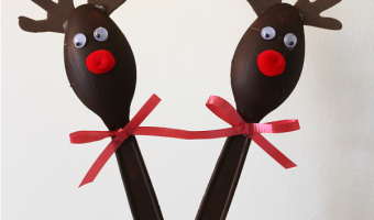 Ho-Ho-Holiday Crafts: Rudolph the Spoon Reindeer