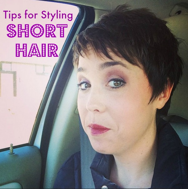 Tips for Styling Short Hair  The Adventures of JMan and Millerbug