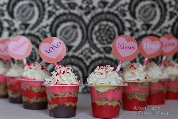 #SnackPackMixins #ad Finished Pudding Cups
