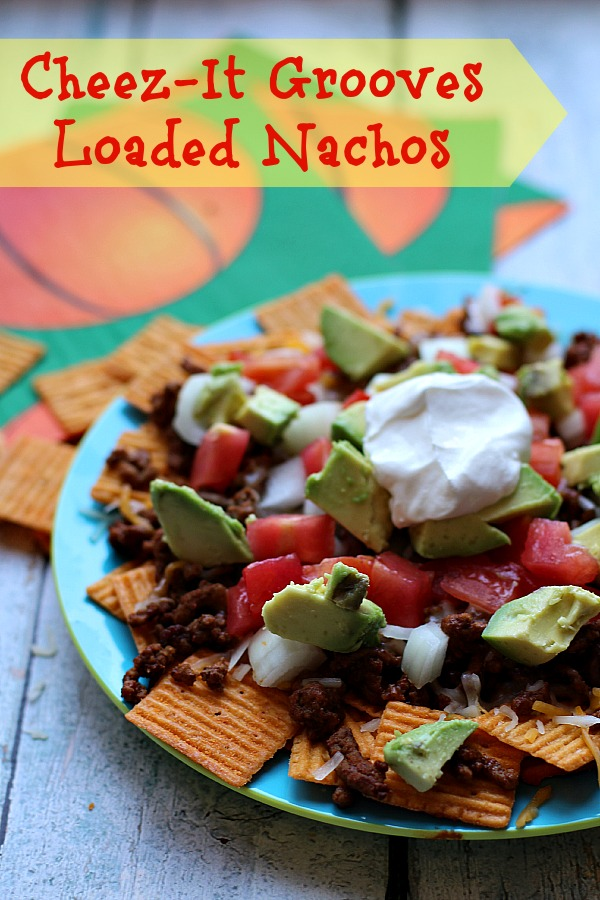 #MVCheezIt #ad Cheez-It Grooves Loaded Nachos