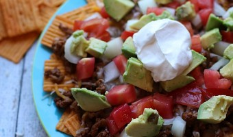 Game Day Cheez-It Grooves Loaded Nachos Recipe
