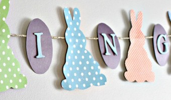 How to Make a Spring Bunny Banner