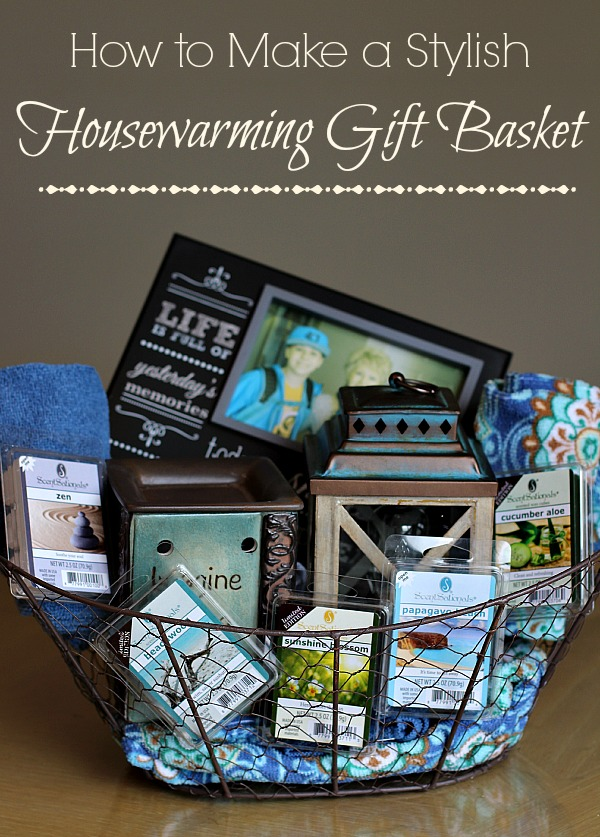 Stylish housewarming gift basket ideas the adventures of for What to buy for housewarming gift