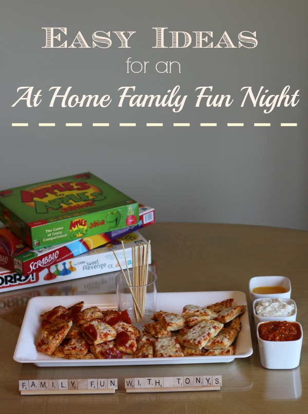 Easy Ideas For An At Home Family Fun Night The Adventures Of J