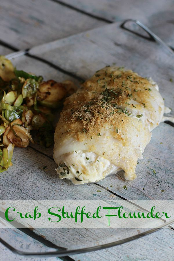 Crab Stuffed Flounder Recipe - The Adventures of J-Man and ...