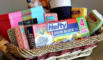 Giving Back to Your School & a Teacher Survival Gift Basket Tutorial