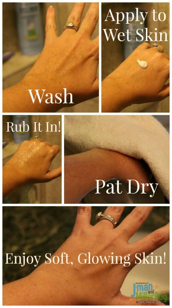 #ApplyBeforeYouDry #ad Lotion Process
