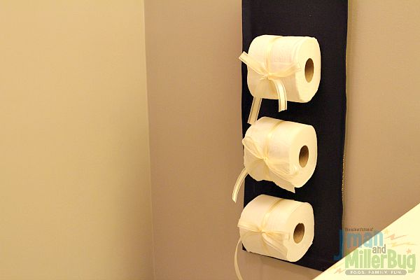 #CraftedExperience #ad Toilet Paper Holder 3