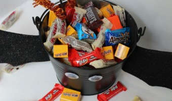 Not-So-Spooky Halloween Candy Pail Tutorial