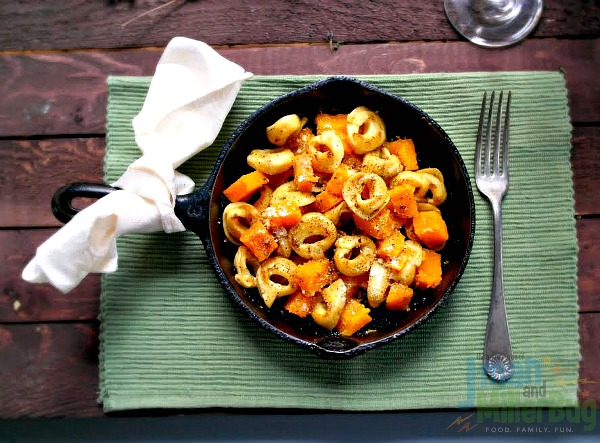 Brown Butter Sage Tortellini with Roasted Butternut Squash Recipe ...