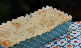 Cream Cheese Streusel Loaf for Two Recipe & a Fun Printable