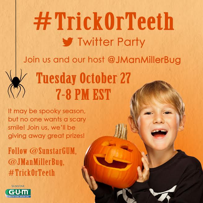#TrickorTeeth Twitter Party