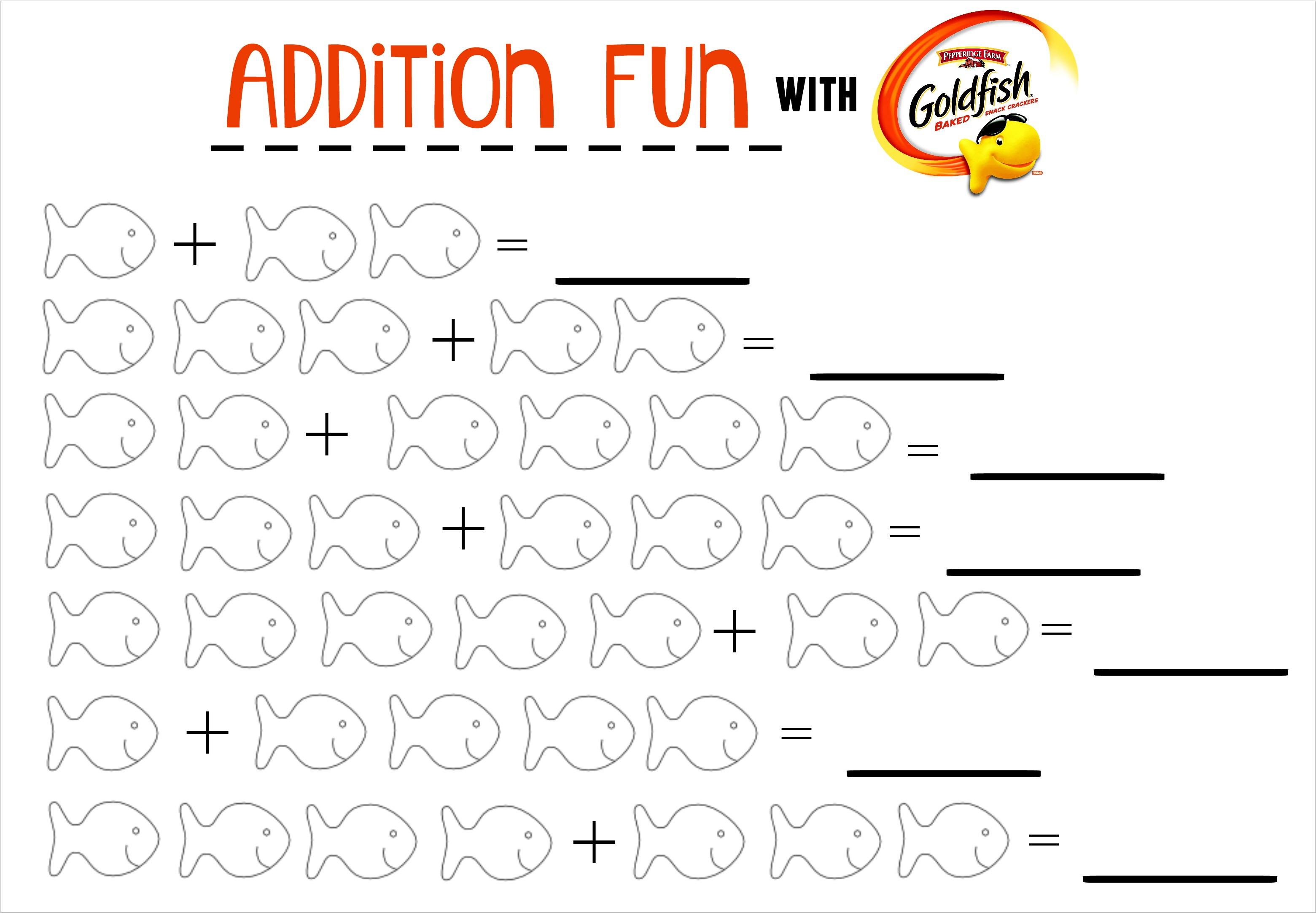 Fun Kid's Math Printables - The Adventures of J-Man and Millerbug