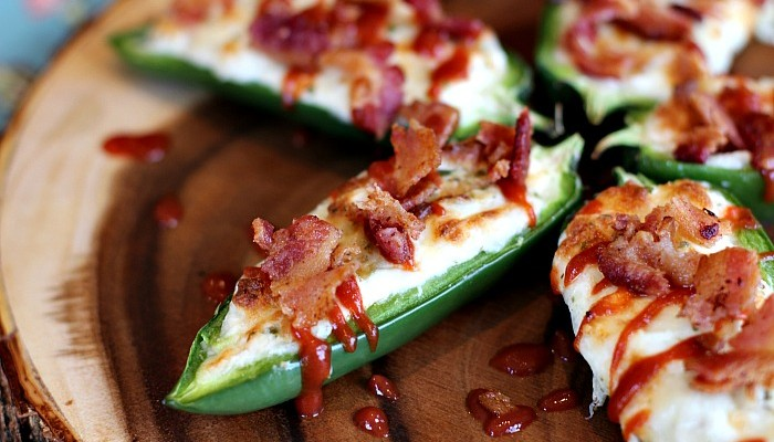Spicy Jalapeño Poppers
