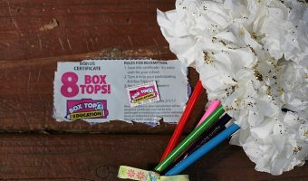 Colored Pencil Bouquet & How to Earn Double Box Tops