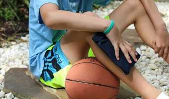 Training Tips for Your Teen Athlete & a DIY Reusable Cool Pack Tutorial