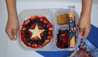 Avengers Themed Bento Box