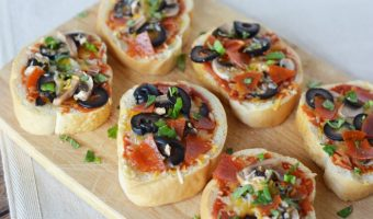 French Bread Pizza Appetizers