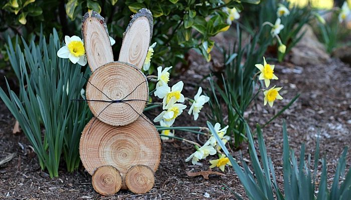 DIY Rustic Wooden Bunny: A Step-By-Step Tutorial
