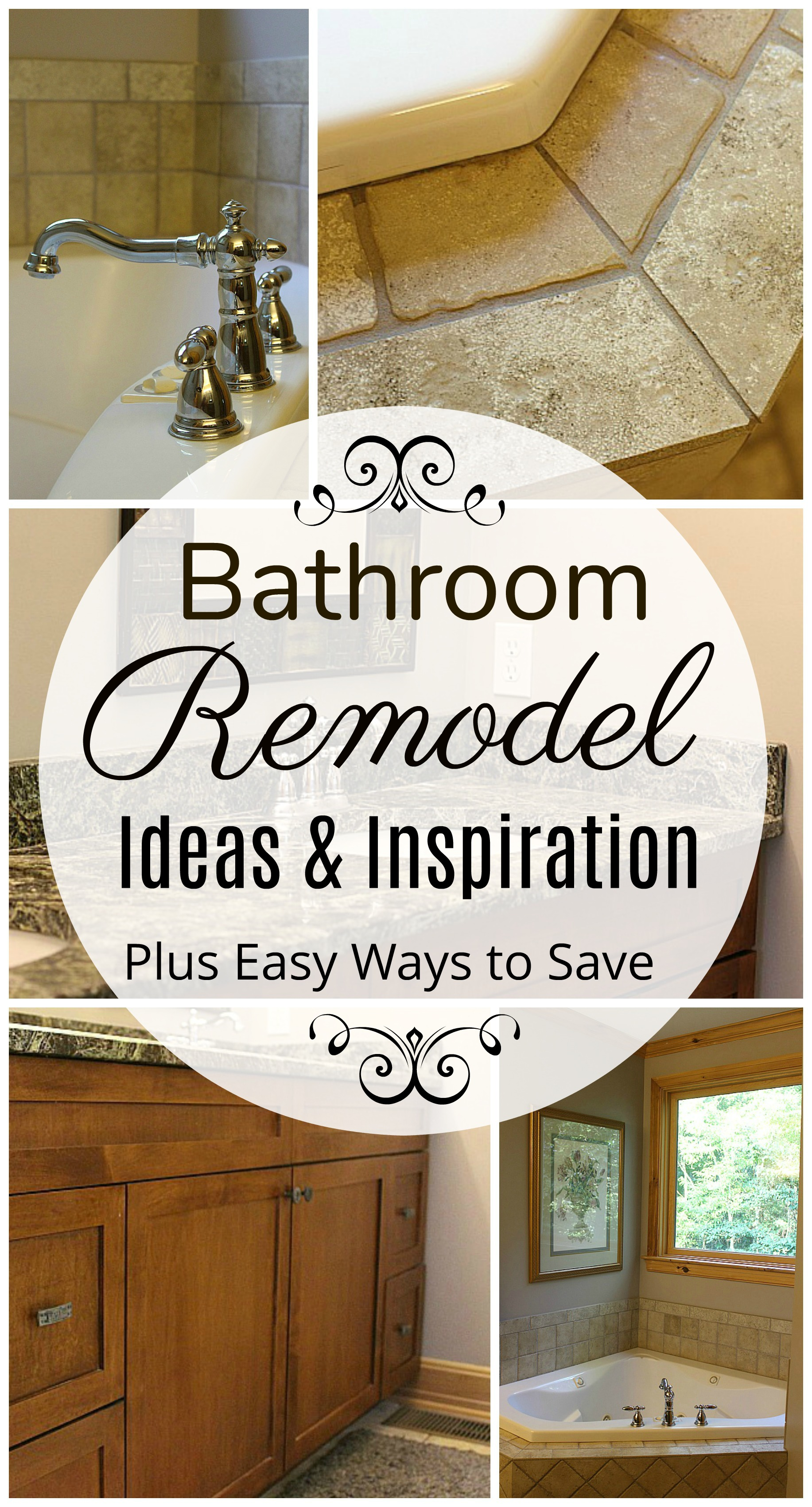 Bathroom remodel ideas inspiration the adventures of j for Bathroom renovation inspiration